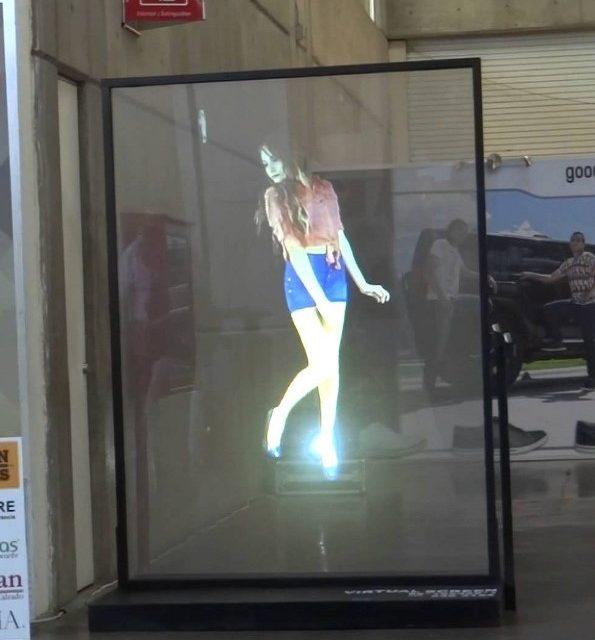 proyeccion holografica